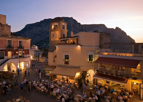 The Piazzetta - Capri Wine Hotel