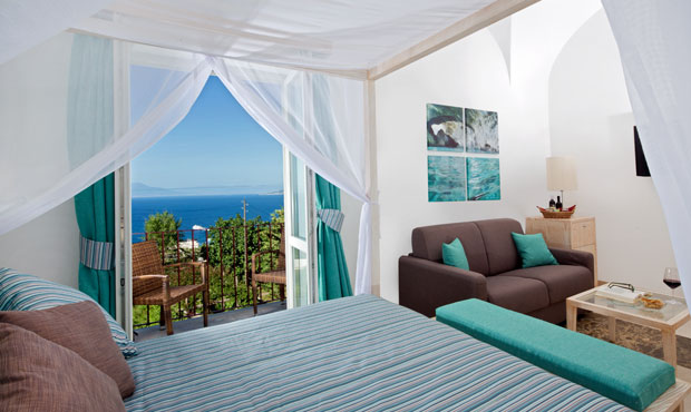 Junior Suite - Capri Wine Hotel