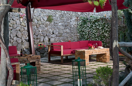 Patio - Capri Wine Hotel
